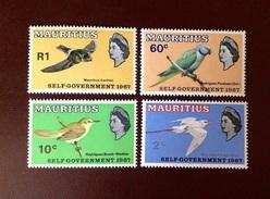 Mauritius 1967 Birds MNH - Vogels
