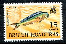 British Honduras 1968 Wildlife - 15c Dolphin Fish MNH (SG 262) - British Honduras (...-1970)
