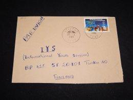 Togo 1986 Halleys Comet Stamp Cover To Finland__(L-3225) - Astrology