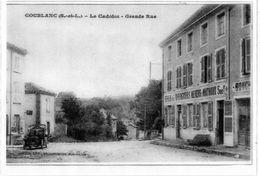 COUBLANC (71)  LE CADOLON Grande Rue   Copie De Ma Collection PLASTIFIEE - France