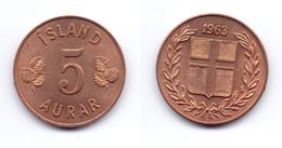 Iceland 5 Aurar 1963 - Island
