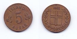 Iceland 5 Aurar 1965 - Iceland