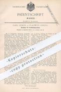 Original Patent - Carl Gebler , Leipzig / Plagwitz , 1890 , Drahtkopf Für Drahtheftmaschinen | Heftmaschine , Buchbinder - Historische Dokumente