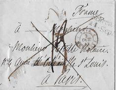1842 HUNINGUE - Letter To Orléans - Poststempel (Briefe)