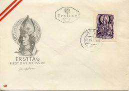 AUSTRIA - 1949 1000th Anniversary Of St. Gebhard    FDC578 - FDC