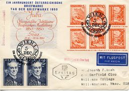 AUSTRIA - 1950 The 100th Anniversary Of The Birth Alexander Girardi    FDC579 - FDC