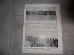 """Origineel Knipsel ( 684 ) Uit Tijdschrift  """" Ons Volk Ontwaakt """"  :  Overstroming Te Moerzeke  1929 - Old Paper"""