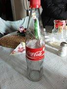 RRRR RARE 0.750 LITRE COCA COLA SODA BOTTLE BULGARIA PERFECT COLLECTABLE - Soda