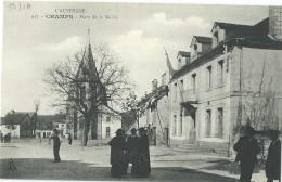 15 - CHAMPS-SUR-TARENTAINE - Place De La Mairie (impeccable) - Other Municipalities