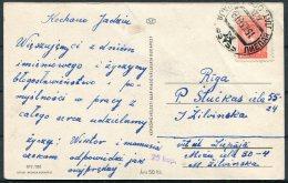 1956 Latvia Postcard - Latvia