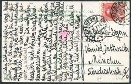 1914 Latvia Majorenhof Seepavillion Postcard - Munchen - Latvia