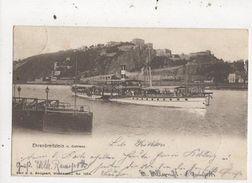 Ehrenbreitstein Von Coblenz Germany 1902 U/B Postcard Steamship 859a - Allemagne