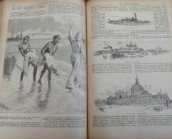 LE VOLEUR1893N°1889: DUNKERQUE INAUGURATION MONUMENT DE LA VICTOIRE/RETOUR DES RESTES DE JACQUES D'UZES/EXPO CHICAGO - 1850 - 1899