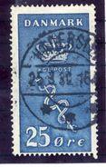 DENMARK 1929 Cancer Fund 35 + 5 Øre Used.  Michel 179 - 1913-47 (Christian X)