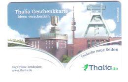 Germany - Allemagne - Thalia - Regional Card Dortmund - Carte Cadeau - Carta Regalo - Gift Card - Fernsehturm - Funkturm - Gift Cards