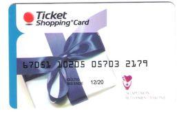 Germany - Ticket Shopping Card - Gift Card - Geschenkkarte - Zudruck Agaplesion Bethanien Diakonie - Gift Cards