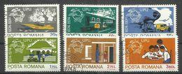 """Rumänien 3194-3199 """"6 Briefmarken Im Satz Zu 100 Jahre UPU 1874-1974"""""""" Gestempelt Mi. 1,30 ; - 1948-.... Républiques"""