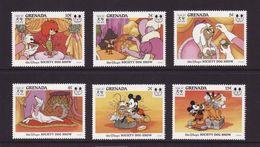 Grenada 1994 Disney Mickey Cartoon Animation Animal Society Dog Show Chinese Lunar New Year Stamps (29) MNH Sc 2363-2388 - Childhood & Youth