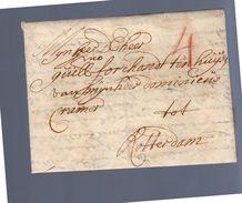 1692 Marcus Forchondt Antwerp Forchonot Ten Huijse Dominiens Cramer Rotterdam (EO1-20) - 1621-1713 (Países Bajos Españoles)