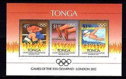 Tonga 2012 Olympics MNH -(V-32) - Jeux Olympiques