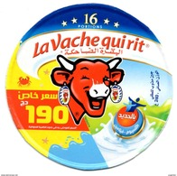 """ETIQUETTE FROMAGE LABEL CHEESE """" La Vache Qui Rit """" 16 - Prix Special 190 DA Etiketten - N° 76032274 Labels Portions - Cheese"""