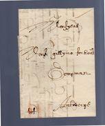 1692 Brugge To Gillymo Fochont Koopnman Antwerp (EO1-23) - 1621-1713 (Paesi Bassi Spagnoli)