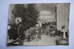 CPA 66 PYRENEES ORIENTALES BOURG MADAME. Rue Principale Et Douane. - Autres Communes
