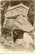 16/CPA - Confolens - Ancien Dolmen Transporté Au Cimetiere - Confolens