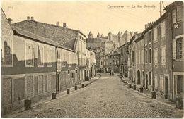 11/CPA - Carcassonne - La Rue Trévalle - Carcassonne