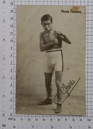 ANDRE GLEIZES - Vintage PHOTO Autograph REPRINT POSTCARD (OST-9) - Boxing