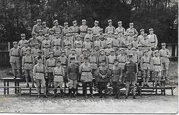 BITCHE 153° R.I.  17 Cie En 1934 Rare Carte Photo - Reggimenti