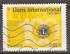 FRANCE    -    2017 . Nouveauté.  Lions International.  Oblitéré. - Used Stamps