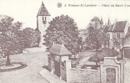 WOLUWE SAINT LAMBERT / BRUXELLES / BRUSSEL / PLACE DU SACRE COEUR / CARTE REPRO - St-Lambrechts-Woluwe - Woluwe-St-Lambert