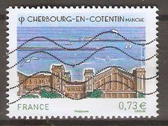 FRANCE    -    2017 . Nouveauté.  Cherbourg - En - Cotentin  /  Manche.   Oblitéré. - Used Stamps