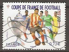 FRANCE    -    2017 . Nouveauté.  Coupe Du Monde De Football.   Oblitéré. - Used Stamps