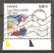 FRANCE    -    2017 . Nouveauté.  Loi Neuwirth  /  Contraception.   Oblitéré. - Used Stamps