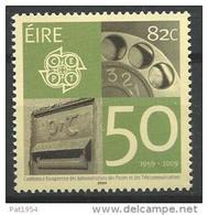 Irlande 2009 N°1897  Neuf ** 50 Ans Des émissions Europa - Neufs