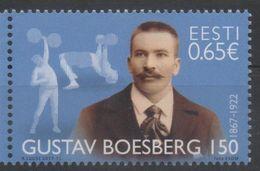 ESTONIA, 2017, MNH, SPORTS, HEAVY LIFTING, GUSTAV BOESBERG, 1v - Weightlifting