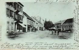 90 GIROMAGNY Grande Place - Giromagny