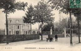 90 GIROMAGNY Avenue De La Gare - Giromagny