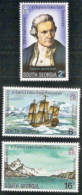 So Georgia,  Scott 2017 # 41-43,  Issued 1975,  Set Of 3,  MNH,  Cat $ 9.50,  Ships - South Georgia