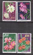 "Formose TAIWAN / China : Yvert 455 / 458 Série Neuve ** / MNH , "" Fleurs "" TTB - Ungebraucht"