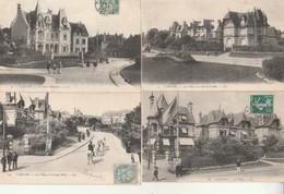 Lot De 10 CPA Cabourg-Les Villas. - Cabourg
