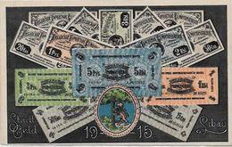 CPA Billet De Banque Banknote LATVIA écrite - Monnaies (représentations)