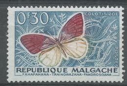 Malagasy Republic 1960. Scott #306 (MNG) Butterfly - Madagascar (1960-...)