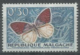 Malagasy Republic 1960. Scott #306 (MH) Butterfly - Madagascar (1960-...)