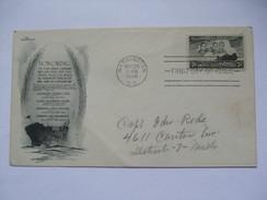 USA - 1948 FDC - Immortal Chaplains - Briefe U. Dokumente