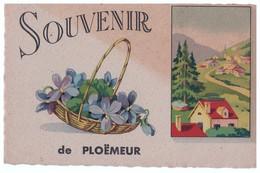 56 - PLOËMEUR . SOUVENIR DE PLOËMEUR - Réf. N°4368 - - Ploemeur