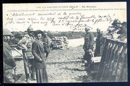 Cpa En Belgique -- La Reine Des Belges Accompagné Du Général Ceuninck écoutant Un Poilu Mélomane     SEP17-31 - Belgique