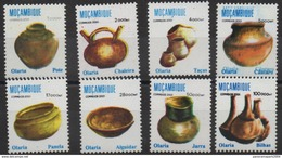 Moçambique Mozambique 2001 / 2002 Mi. 2805 - 2812  - Olaria Töpferei Poteries Pottery MNH RARE - Mozambique